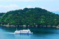 ドローン撮影サンプル画像 竹生島