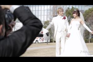 結婚式 撮って出しエンドロール 大津プリンスホテル