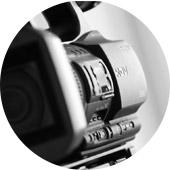 ビデオカメラで動画撮影
