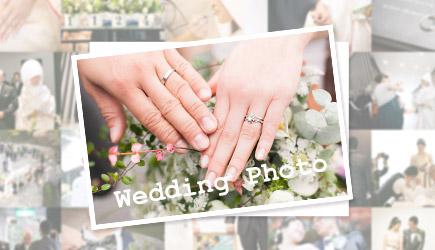 結婚式ウェディングフォト